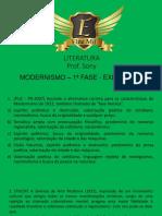 Plataforma Elite Mil Modernismo 1 Fase Exercicios