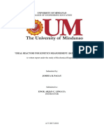 9. Ideal Kinetics for Kinetic Measurement (Batch Reactors)