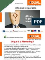 O Marketing na restauração