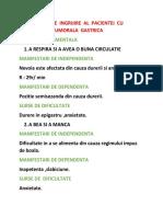 Model Plan de Ingrijire Al Pacientei Cu Formatiune Tumorala Gastrica