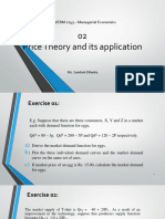 02. Price Theory and Its Application