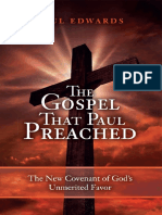 The Gospel That Paul Preached - Edwards, Paul