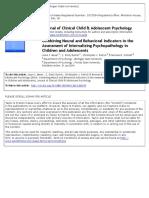 Moser Et Al in Press Combining Neural and Behavioral Indicators