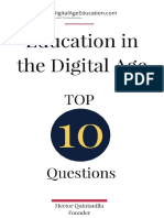 DigitalAgeEducation Top 10 Questions