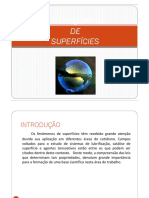 Físico-química de Superfícies