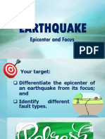 Earthquake Origin