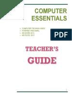 Teacher's Guide for Grade 3 ICT