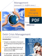 Debt Crisis Managment an Analytical Framework