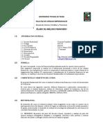 Silabo Analisis Financiero 2013 Upt Evillegas