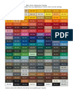 RAL Color Selection Guide