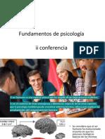Fundamentos de Psicología Conferencia 2