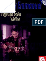 Tommy Emmanuel Fingerstyle Guitar Method szerző- Tommy Emmanuel-Deyan Bratic