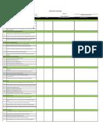 Audit Checklist Form