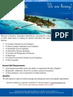 Job Advertisement - 080619 - 2