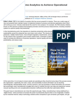 Automation.isa.Org-How to Use Real-Time Analytics to Achieve Operational Excellence