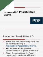 Production Possibilities Curvenotes