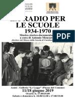 La Radio Per Le Scuole Locandina