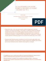 Evaluarea siguranței și eficienței canagliflozina la pacientii