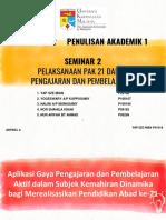 Ulasan 10 Artikel Seminar 2 Kumpulan 2