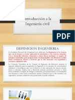 CLASE 1 Introducción a La Ingeniería Civil