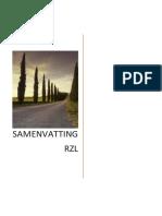 Samenvatting-RZL (1)