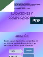 luxaciones y complicaciones