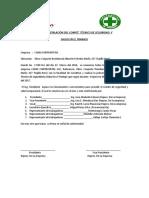 Acta de Instalación Del Comité Técnico de Seguridad y Salud en El Trabajo