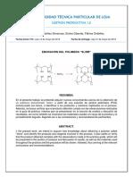 Elaboración de SLIME (Informe de laboratorio)