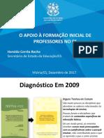26122017 03 Haroldo Rocha Bolsa Estagio Seminario Residencia Pedagogica