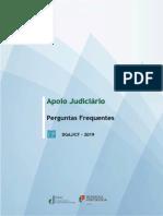 Apoio Judiciário - Questões Frequentes 2019