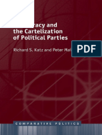 [Comparative Politics (Oxford University Press)] Katz, Richard S._ Mair, Peter - Democracy and the Cartelization of Political Parties (2018, Oxford University Press)