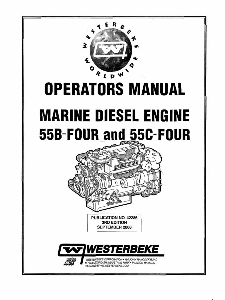 Marine Diesel Engine-Operator Manual