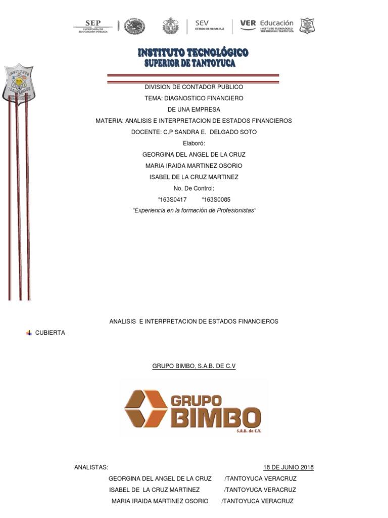 Diagnostico Financiero Alimentos Business