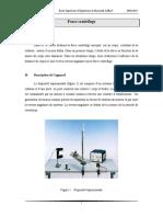 Force Centrifuge ESIB MPSI