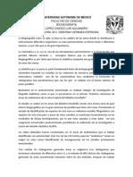 López Chávez Luis Alejandro-Biogeografía Cladistica