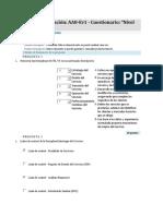 AA8-Ev1 - Cuestionario Nivel de Servicio