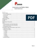 Gerenciamento Rádio Web - Painel Centova Cast