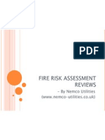 Fire Risk Assessment Reviews