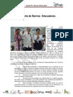 Carta de Barrios Educadores