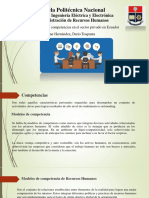 Presentación de Modelos de Competencia en el Sector Privado Ecuador