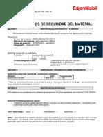 Ficha de Datos de Seguridad Mobil Delvac Mx 15w40