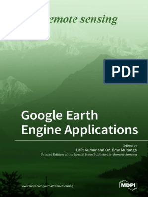 Google Earth Engine Applications | Remote Sensing | Cloud