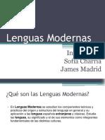 Lenguas Modernas (1)