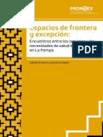 Espacios de frontera y excepción