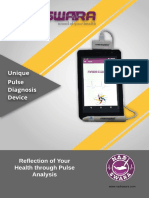 Nadiswara Pulse Diagnosis Device