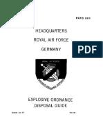 RAFG 501 Soviet Bombs and Fuzes 1987