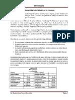 Unidad III - Administracion de Capital de Trabajo y Financiamiento a Corto Plazo
