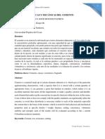 Propiedades fisicas y  mecanicas del cemento