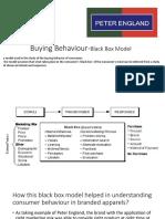 Buying Behaviour-Black Box Model