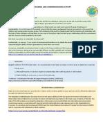 Reading and Comprehension Activity- CONCEITOS DESENVOLVIMENTO SUSTENTÁVEL